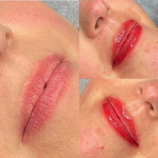 Permanente make-up lippen - Schoonheidssalon Emmelie
