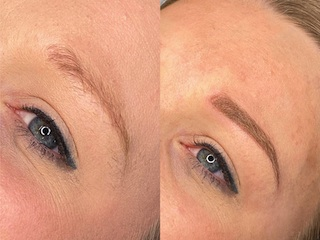 Permanente make-up Powderbrows - Schoonheidssalon Emmelie